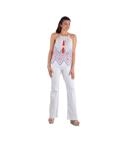 leuko white jeans kaloakirino 2019 mish timh ola mish timh super deal super sales sales summer sale