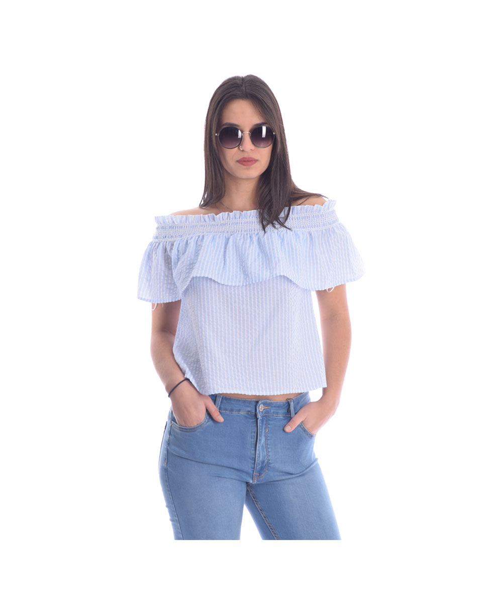 2423a8ac16df galazio leuko crop top strapless italiko italian spring summer 2019 alcott