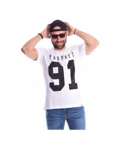 leuki kontomaniki mplouza t-shirt me maurh stampa sto stithos arithmo black anoiksh kalokairi collection 2019