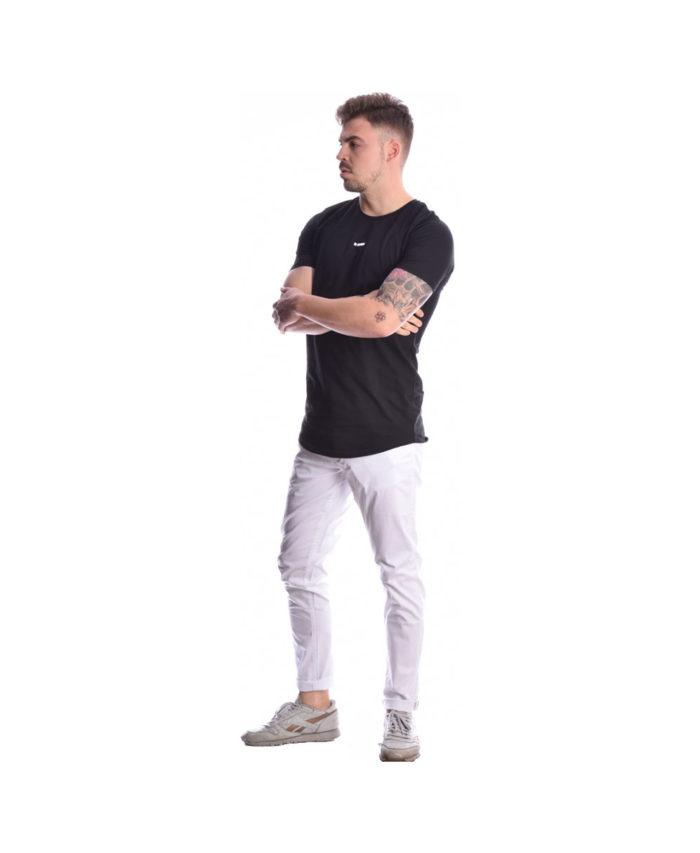 leuko white pants panteloni kalokairino italiko pentatsepo made in italy