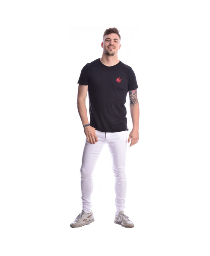 leuko white efarmosto elastiko jean italiko made in italy summer 2019