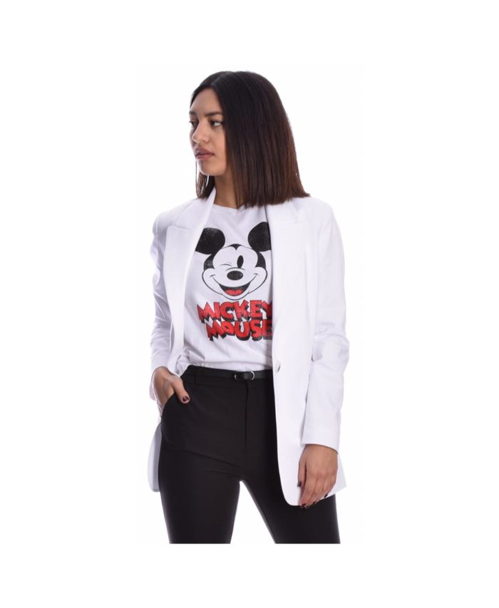 leuko white tshirt mickey mouse 2020 spring summer italiko made in italy