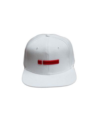 leuko white snapback hat kapelo me geiso kai kokkino red kenthmeno logo logotupo iclothins spring summer