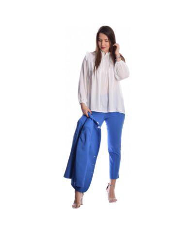 mple roua blue roua royale ufasmatino kalokairino panteloni ths elenhs menegakh my t wearables spring summer 2020