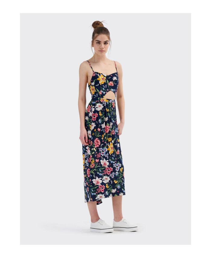 maxi floral italian dress made in italy spring summer 2020 flower power