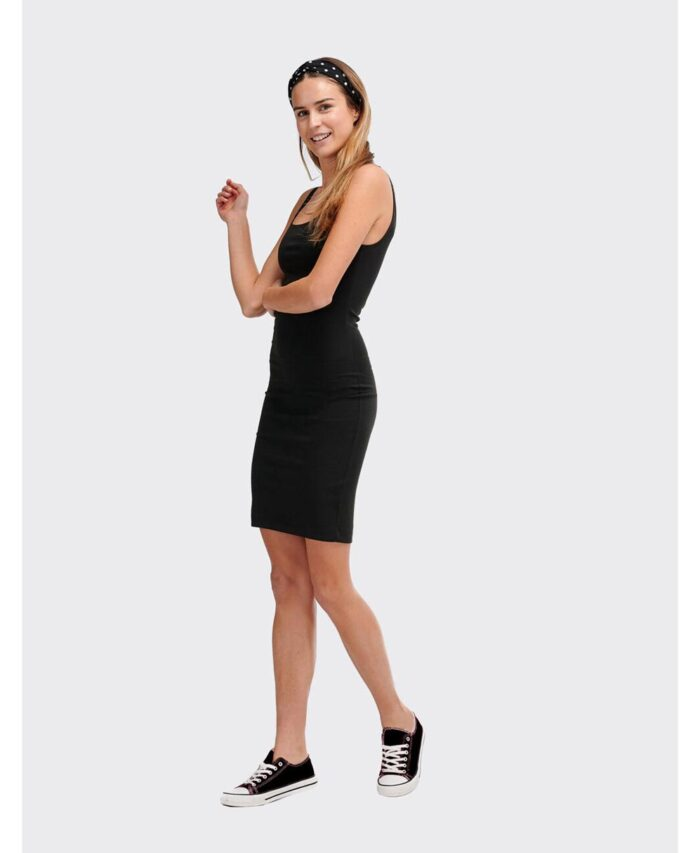 mauro black mini forema dress little black dress italiko made in italy summer 2020