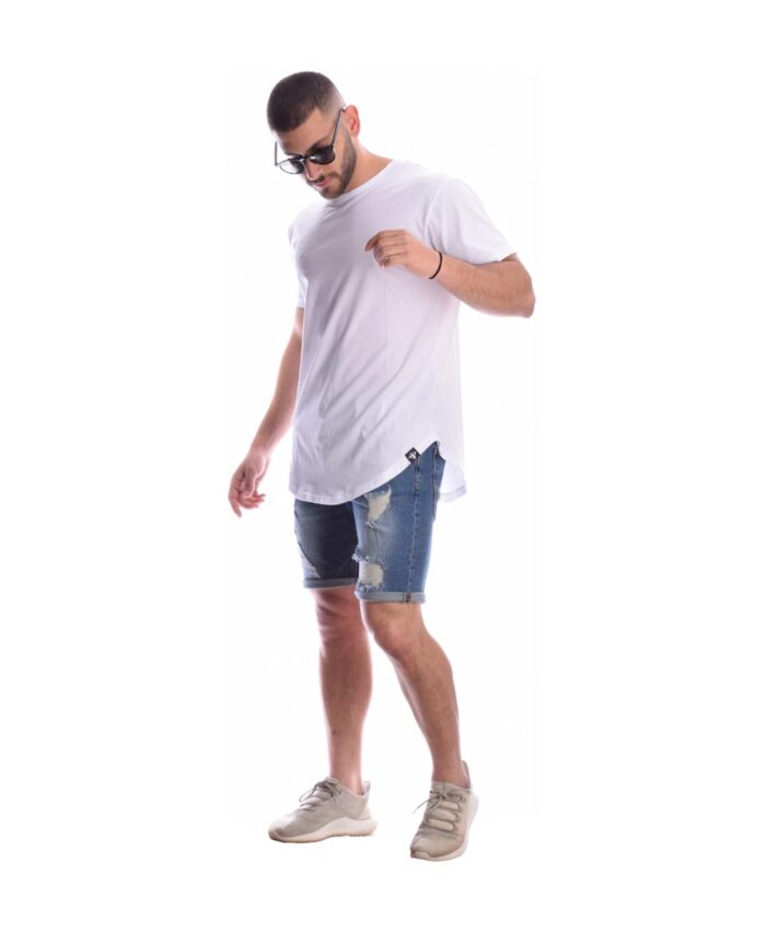 leuki white asummetrh kalokairini mplozua t-shirt summer 2020 prophet skg