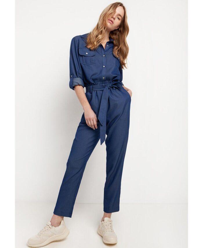 papaerbag blue jeans pants desiree fashion 2021 spring summer collection pantelonia me zwnh kai lastixo sth mesh