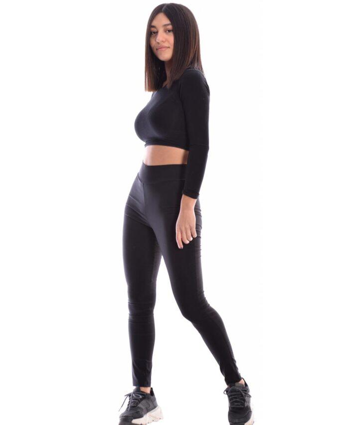 mauro black leggings elastiko gialistero kolan desiree 2021