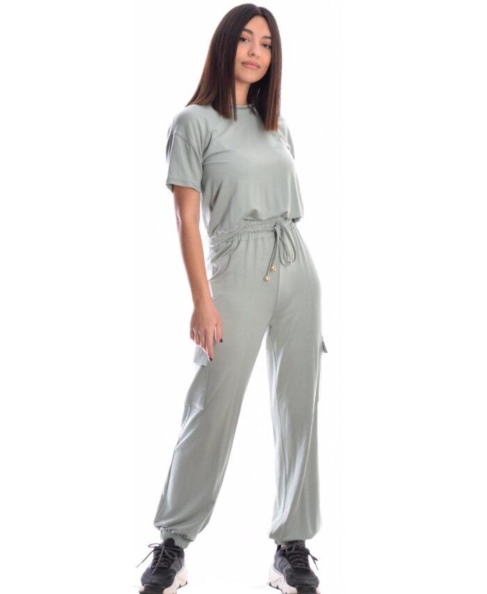 prasinh veraman forma desiree fashion 2021 spring summer cargo pants me lastixo kai kordoni sth mesh kai lastixo stous astragalous