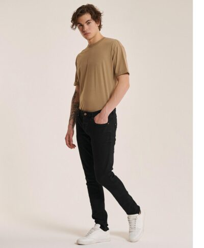 mauro black super skinny stretch jeans made in italy spring summer 2021