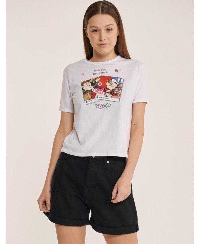 olive popeye t-shirt made in italy 2021 spring summer