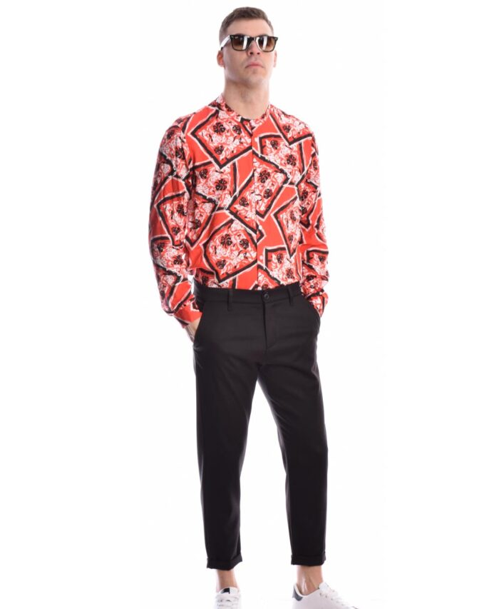 kokkino red italiko poukamiso lahouri emprime floral summer 2021 mao giakas imperial fashion