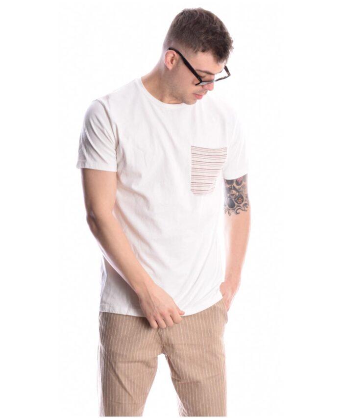 leuko kontomaniko t-shirt imperial fashion made in italy me rige tsepaki sto stithos miralem pjanic 2021 spring summer
