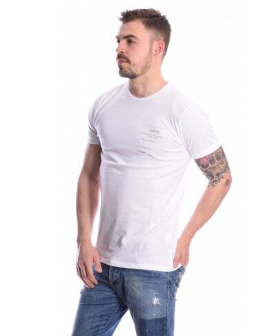 leuko white t-shirt imperial italy 2021
