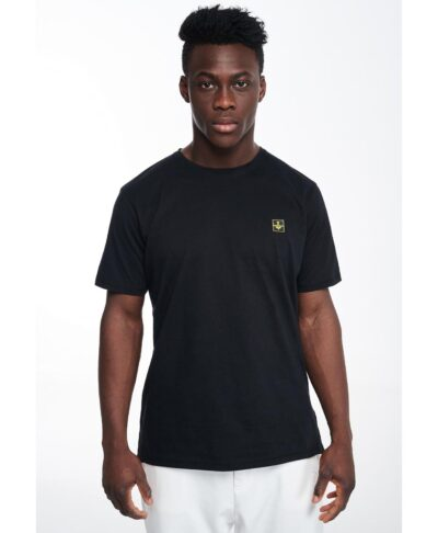 black t-shirt p/coc emmanuel gntm regular fit 2021