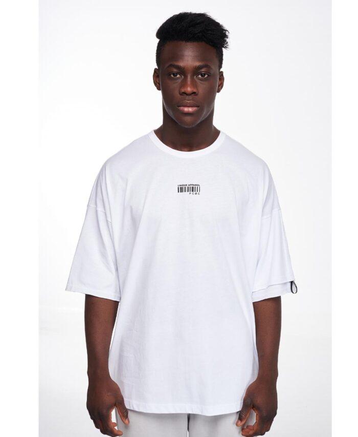 leuko white t-shirt overizes p/coc 2021