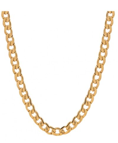cuban rope two feelings necklaces gold
