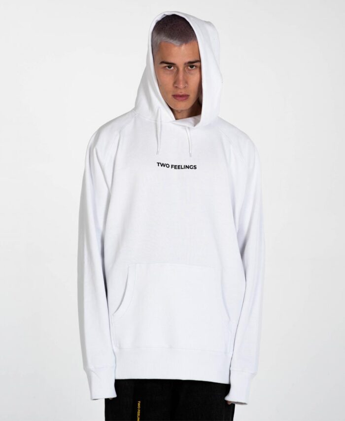 tested positive white hoodie giving no fuck