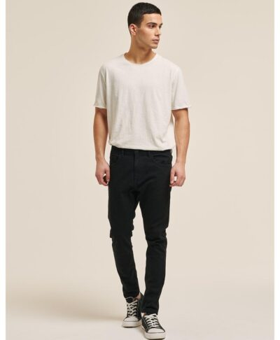 mauro black jeans stretch & skinny made in italy 2021