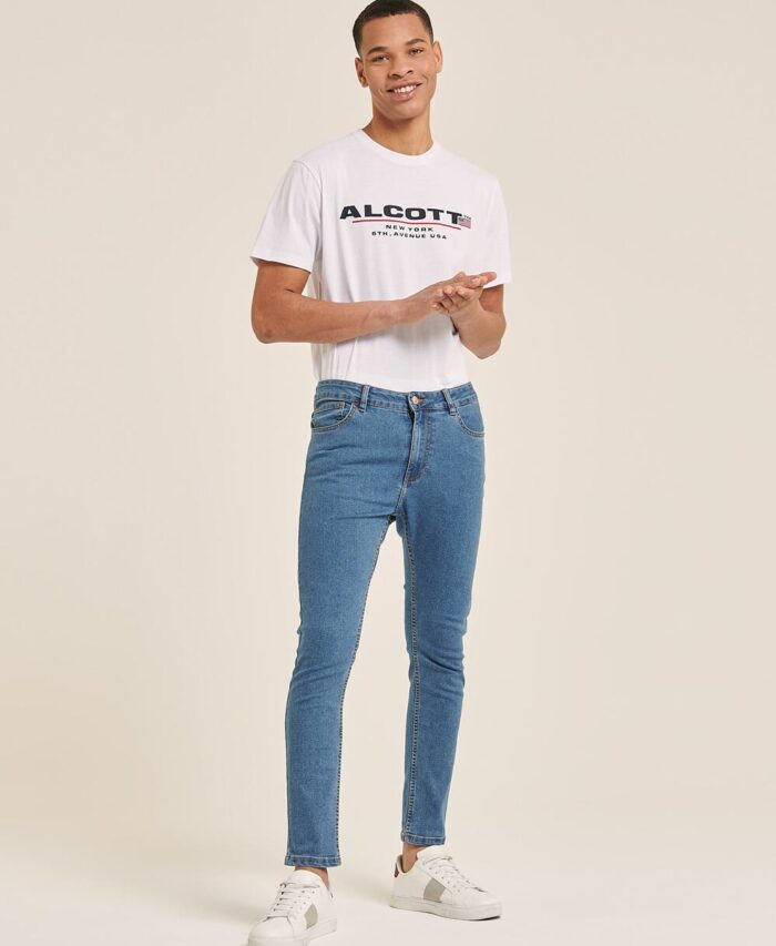 alcott blue jeans super skinny & stretch 2021 made in italy
