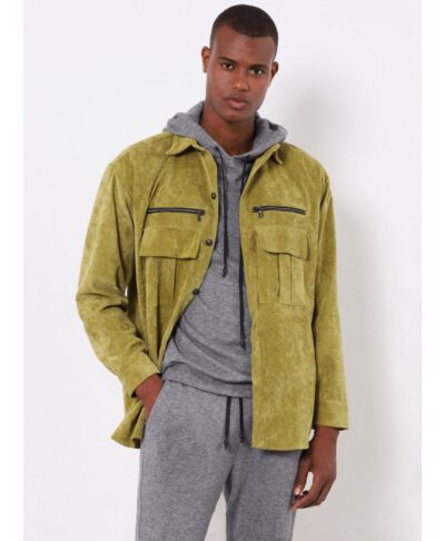 ladi chaki lime jacket kotle made in italy 2021 imperial fashion fall winter