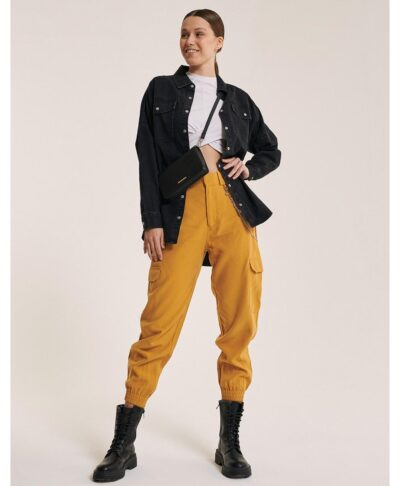 mauro black jeans oversized made in italy jeans jackets winter 2021