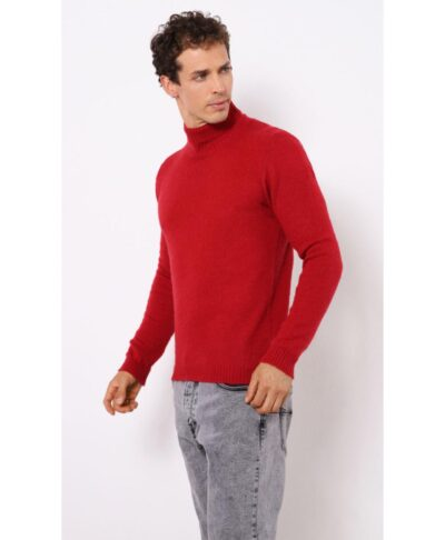 red kokkino blood plekto poulover me zivago turtle neck imperial fashion 2021 made in italy