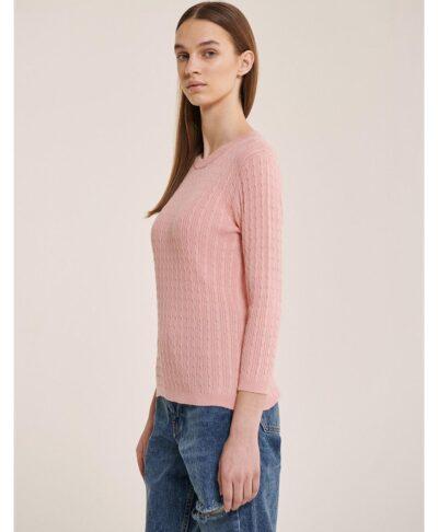 alcott baby pink knit pullover alcott made in italy 2021