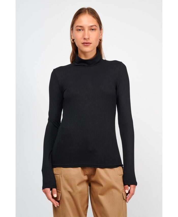 mauro black zibagko turtle neck fall winter 2021 my t wearables